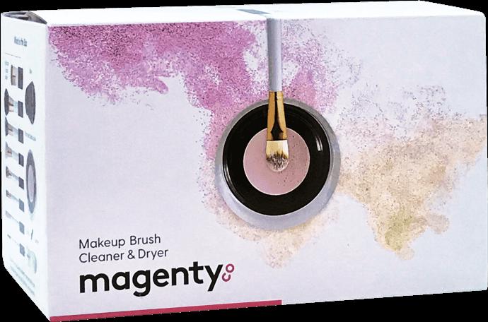 makeup brush cleaner & dryer box
