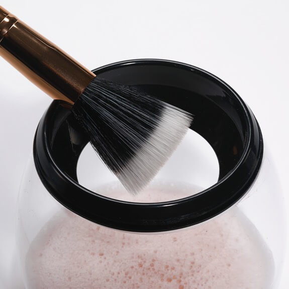 makeup brush cleaner & dryer - dry brush